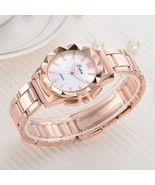 Lvpai® Luxury Steel Watch Women Rose Sports Dress Quartz Wristwatch Fash... - $6.69