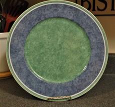 "Villeroy & Boch Costa Switch 3 Germany Green & Blue Chop Plate 12.5"" - $23.36"
