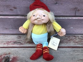 CURIOUS CHARACTERS  GNOME THE ELDER OF THE DWARFS SOFT SCULPTURE DOLL OOAK - $49.45