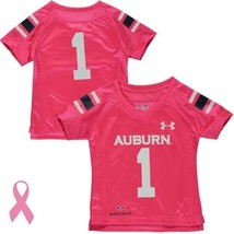AUBURN TIGERS JERSEY-TODDLERS-PINK- UNDER ARMOUR-NWT - RETAIL $42 - $23.99