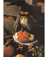 X303 Sewing PATTERN ONLY Best Witch Halloween Soft Body Doll Pattern - $7.45