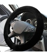 US Car Truck Steering Wheel Cover Soft Plush Warm Fuzzy Fluffy Thick Fau... - $18.81