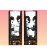THE BEATLES CARTOON VODKA SHOT GLASS - $7.99