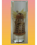 DOCTOR WHO DALEK VODKA SHOT GLASS Dr Who Made in England - $16.00