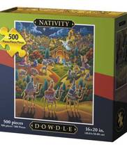 NATIVITY - FOLK ART - PUZZLE - 500 Pieces - $21.95