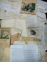 1941 vintage LOT~DANIEL/MARGARET/BERTHA SCHATZMAN EPHEMERA/JEWELRY new h... - $64.95
