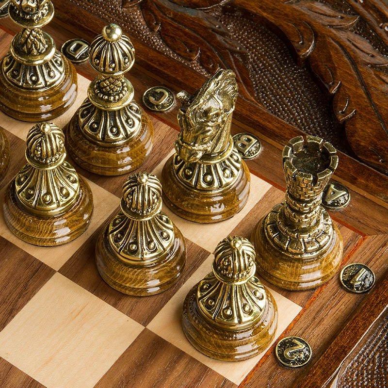 "Table Lombard chess ""Circle of Light"" Handmade"