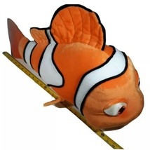 "Hasbro Disney Finding Nemo Large 26"" Clown Fish Orange Plush Stuffed Ani... - $53.35"