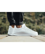 NIKE CORTEZ ULTRA WHITE/COOL GREY SIZE 10 NEW W/BOX FAST SHIPPING (83314... - $74.55