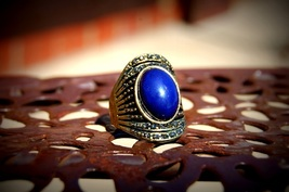 Deep Blue Sexy Help Ring Powerful Marid Djinn / Jinn / Genie ~Hamjada~ Haunted - $699.00