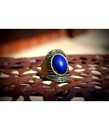 DEEP BLUE SEXY HELP RING POWERFUL MARID DJINN / JINN / GENIE ~HAMJADA~ H... - $699.00