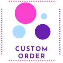 Custom Order for Bobby