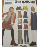 9855A SimplicityGirls, Pants , Shirt, Jumper,An... - $9.95