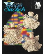 X425 Crochet PATTERN Book ONLY Angel Sachets 7 ... - $10.45