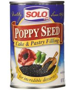 Solo Poppy Seed Cake & Pastry Filling (12.5 oz Cans) 2 Pack - $18.99