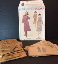 Vogue American Designer Sewing Pattern 1961 Jerry Silverman 10 Dress Coa... - $13.32