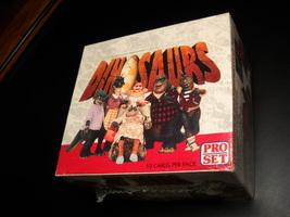 Dinosaurs Pro Set 1992 36 Packs of Cards Jim Henson Television Series Se... - $12.99