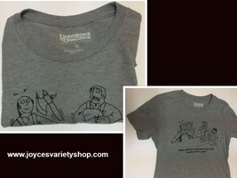 Dungeons & Dragons T-Shirt Barbarian in The Corner XL Gray NEW - $8.99
