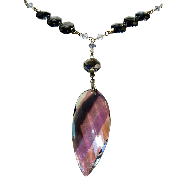 Crystal necklace jn p320agtcl01
