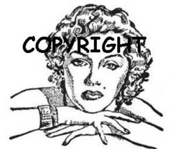 MARILYN MONROE ON FOLDED ARMS mounted rubber stamp - $8.50
