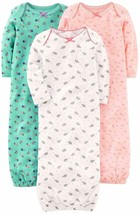 Simple Joys by Carter's Baby Girls' 3-Pack Cotton   (Select, Pink/Mint/W... - $27.10