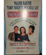 VALERIE HARPER IN THE ALLERGISTS WIFE POSTER - TONY ROBERTS,  & MICHELE ... - $7.00