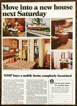 1967 Mobile Homes Manufacturer's Assoc Print Ad Move Into New Home Next ... - $11.69