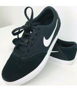 Nike SB Check Gs Big Kids 705266 001 Skateboarding Youth Size 6Y Black  - $39.59