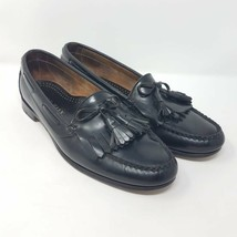 Cole Haan Mens Loafers Shoes Black Leather Slip-On Tassels USA 11 EUR 44... - $34.99