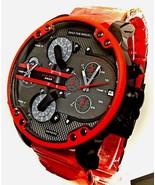 New Diesel DZ7370 Red Mens MR Daddy 2.0 57MM Chronograph Watch - £141.72 GBP
