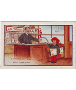 Vintage Valentine's Day Postcard, 1900s Spend My Last Cent For You Whitney Made - $4.00