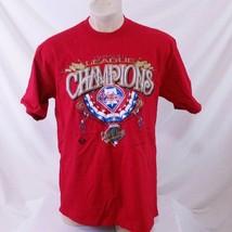 Vintage 1993 Philadelphia Phillies NL Champion T Shirt MLB Tee World Ser... - $29.99