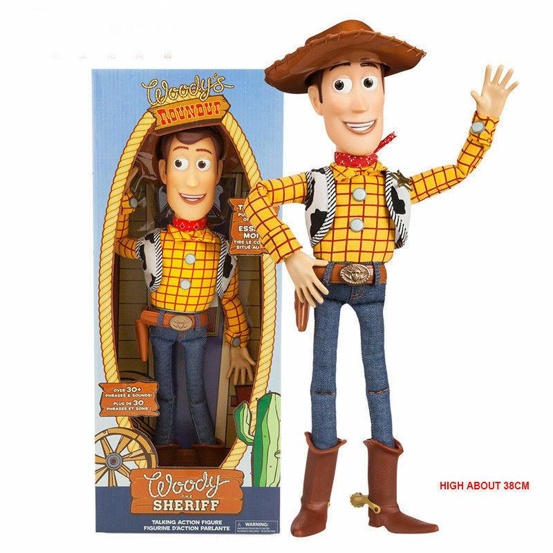 Buzz Light Year, Woody, Or Jess Talking Toy Story Dolls