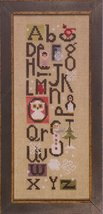 ABC's of Snow snowman winter cross stitch chart Heart in Hand - $7.20