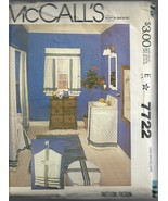 Vintage McCall's Pattern-Bathroom Accessory Package-Shower Curtain-Sink ... - $12.16