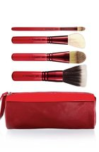 MAC Cosmetics Adoring Carmine Makeup Face Brush Set Unboxed - $48.00