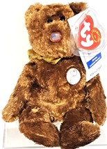 TY BEANIE BABIES 2002 FIFA WORLD CUP KOREA JAPAN CHAMPION the Bear UNITE... - $11.88