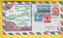 APOLLO-SOYUZ NAVY RECOVERY FORCE SAN FRANCISCO CA 7/24/1975 B998 BECK PA... - $2.98