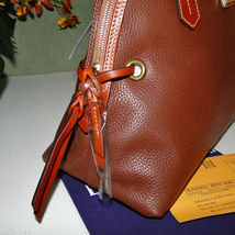 Dooney & Bourke Domed Pebble Leather Shoulder Bag image 6