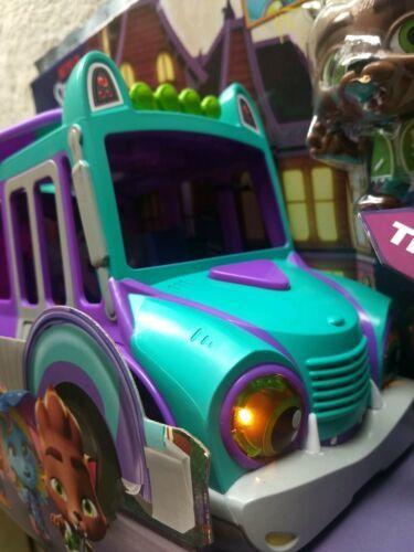 Netflix Playschool Super Monsters GrrBus Monster Bus Toy Lights Sounds & Music  image 10