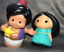 Disney Aladdin Jasmine Princess Little People Fisher Price Set Lot Htf - $21.28