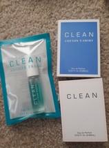Clean shower fresh rollerball cotton tshirt original travel fragrance lot - $16.00