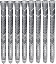 8 Golf Pride PLUS4 Grey Golf Grips, All Sizes Available - $89.95 - $104.95