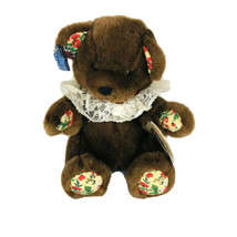 "Enchanted Season Applause Mocha Bon Bon Brown Stuffed Teddy Bear 8"" Plush  - $18.32"