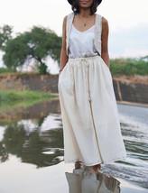 White Bohemian Skirt, Bohemian Maxi Skirt, Women White Skirt, Bohemian  - $69.00