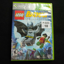 LEGO Batman, The Videogame (XBox 360, Platinum Hits) Without Manual - $6.92