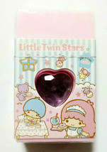 Little Twin Stars Eraser Heart SANRIO 2012 Pink Cute Goods Super Rare - $25.90