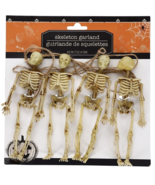 Long String Skeleton Garland Halloween Party Décor Decoration Scary Spoo... - $12.99