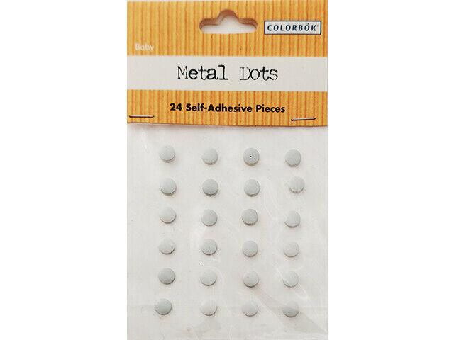 Colorbok Metal Dots, White #38128