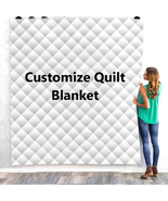 Custom Quilt Blanket Queen Weighted Customize Gift Polyester for Baby & Adults - $24.25 - $84.87